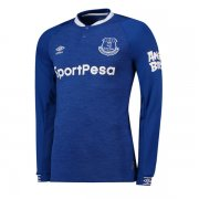 1819 Everton Home Long Sleeve Soccer Jersey