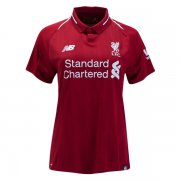 1819 Liverpool Home Women Soccer Jersey